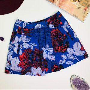Anthropologie 'Lunar Light' Skirt w/Pockets Small